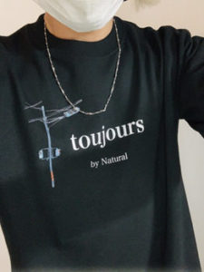 オリジナルTシャツアップ